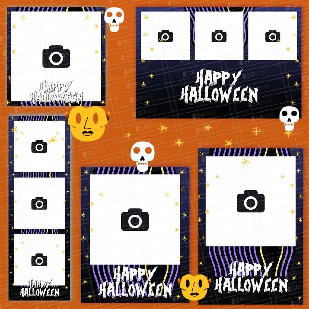 Day of the Dead Halloween Templates