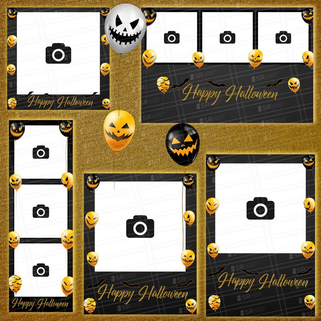 Halloween Scary Balloon Templates