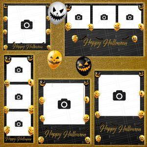 Halloween Balloon Templates by shopatsr